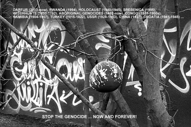 Stop the genocide!
