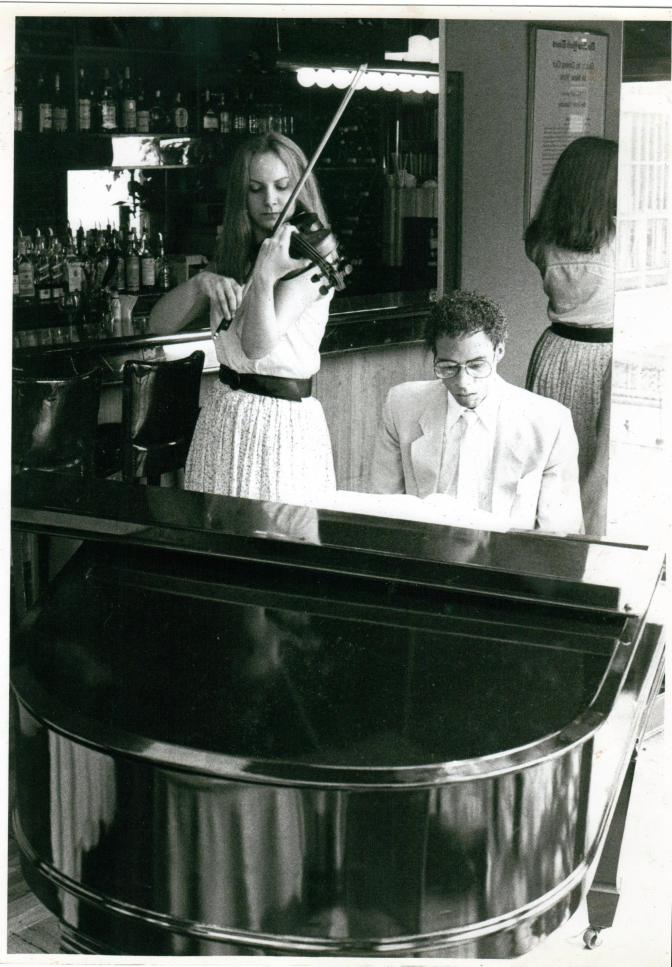 Adam Donaldson Powell (piano) and Cathy Craig (violin), New York City.