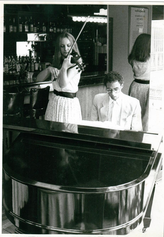 Adam Donaldson Powell and Cathy Craig