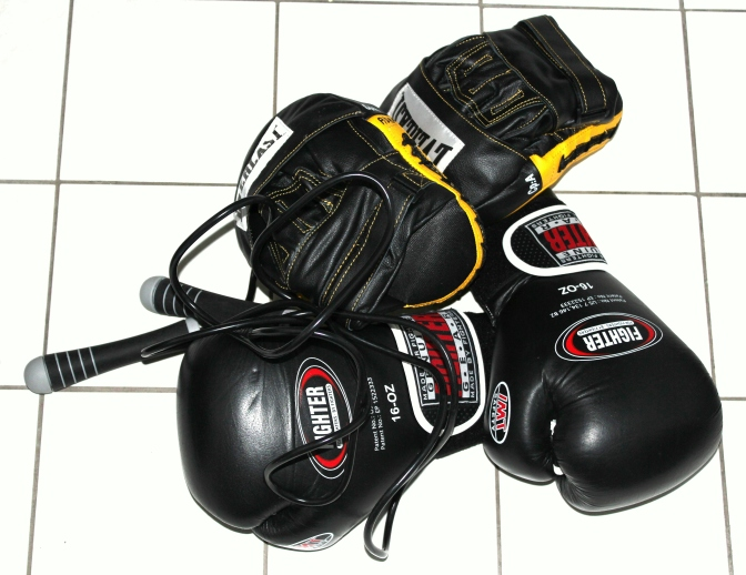 Boxing gloves, sports photography by Adam Donaldson Powell.