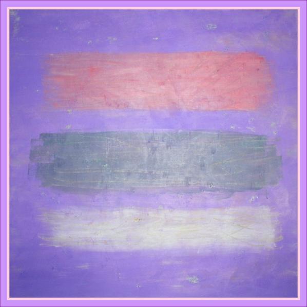 A Wrist-cutter's Glow, oil on canvas, 50x50 cm., Adam Donaldson Powell.