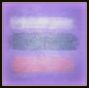 A Wrist Cutter's Glow (Oil on canvas).