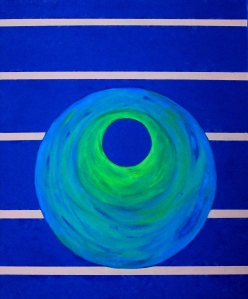 Portal to Eternity, No. 2 (Oil on canvas).