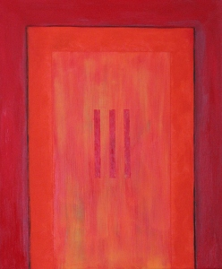 Portal to Eternity, No. 1 (Oil on canvas).