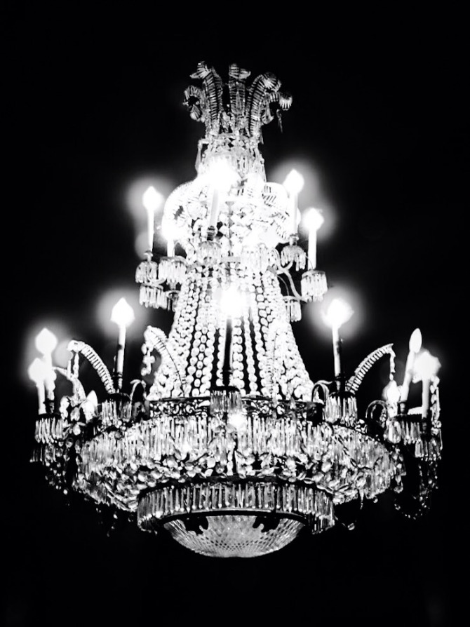 sandro chandelier