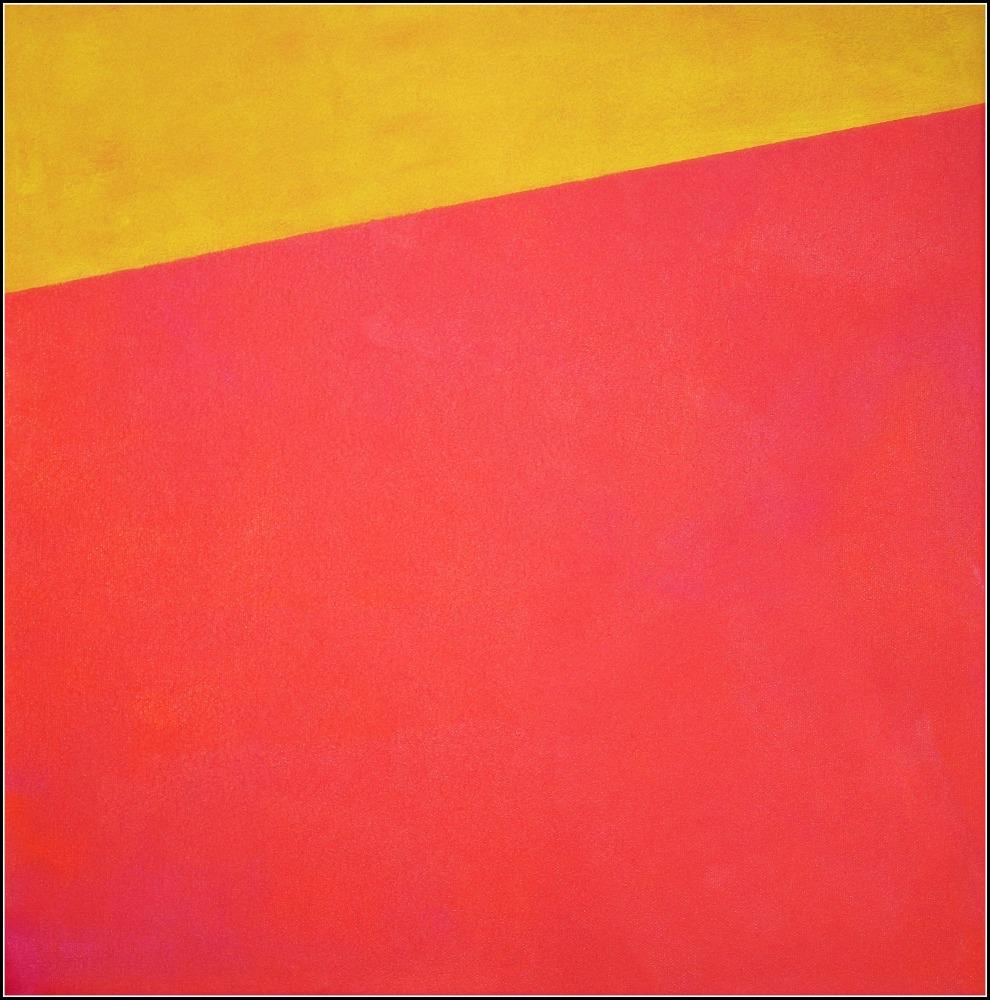 Horizon, oil on canvas, 40x40 cm., 2016-2020