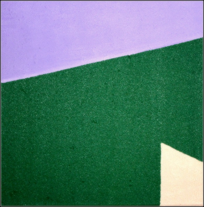 Twilight, oil on canvas, 40x40 cm.