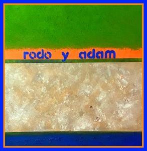 rodo y adam, 50x50 cm., oil on canvas, 2017.