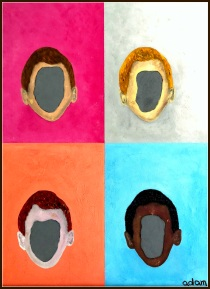 """""""Faceless animus"""" asks us who much we really know another person, and how much we really want to know -- the stereotypical or racial countenance ... or the faceless animus that lies behind it?"""